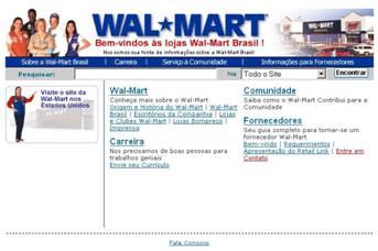 Os sites do Wal-Mart nos EUA e no Brasil parecem não ter relação entre si picture 02