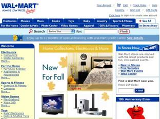 The US and China Wal-Mart sites do not appear related picture 01
