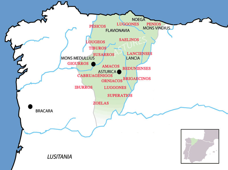 Conventum Asturum in the first century BC