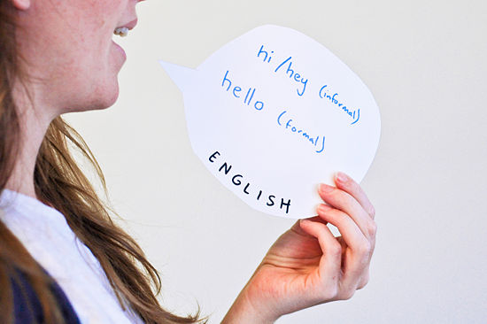 How to say hello in different languages english american hello formal hi informal hey informal yo informal m4hsunfo