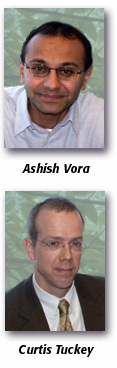 Ashish Vora and Curtis Tuckey