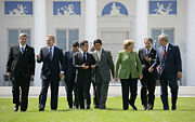 The EU participates in all G8 summits. (Heiligendamm, Germany)