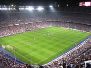 Spectator sports are popular in many EU member states (Camp Nou, Barcelona)