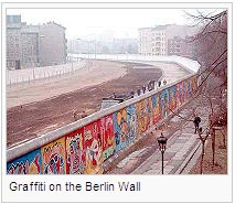 Graffiti on the Berlin Wall