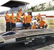 Australia hosts the World Solar Challenge where solar cars like the Nuna3 race through a 3,021 km (1,877 mi) course from Darwin to Adelaide