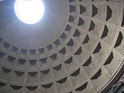 Daylighting features such as this oculus at the top of the Pantheon in Rome have been in use since antiquity
