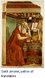Saint Jerome, patron of translators