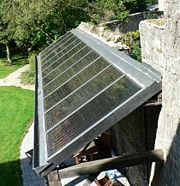Solar water heaters must face the Sun to maximize gain