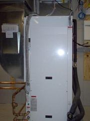 Water-to-air heat pump