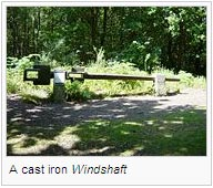 A cast iron Windshaft