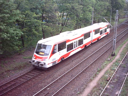 A DMU in Poland