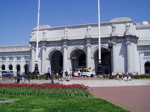 A Railroad Station. Union Station, Washington D.C.
