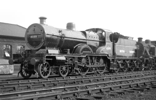 A compound locomotive on British Railways in 1948
