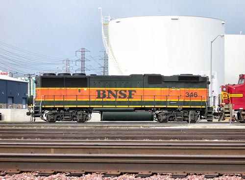 BNSF Railway GP60B B Unit