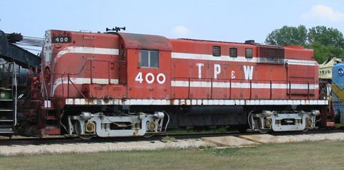 TPW 400, an ALCO RS-11, a type of hood unit